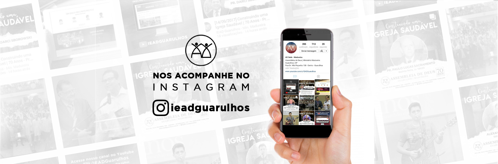 BANNER site – 2 instagram – IEAD Guarulhos
